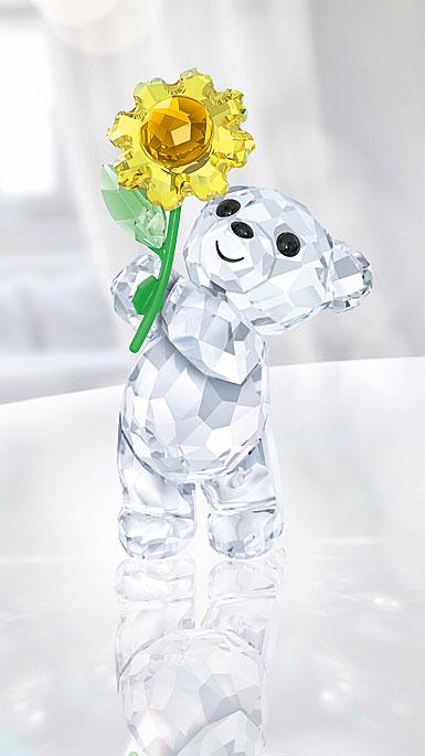 Swarovski Kris Bear A Sunflower For You
