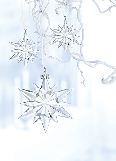 Swarovski 2017 Christmas Ornament Set