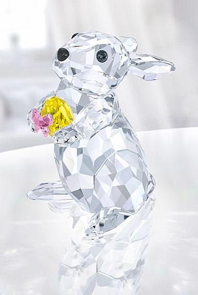 Swarovski Rabbit With Yellow Egg
