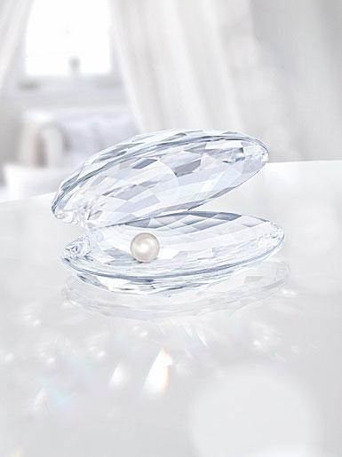 Swarovski Shell With Pearl, Large