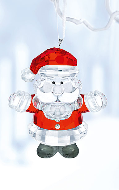 Swarovski 2017 Santa Claus Ornament
