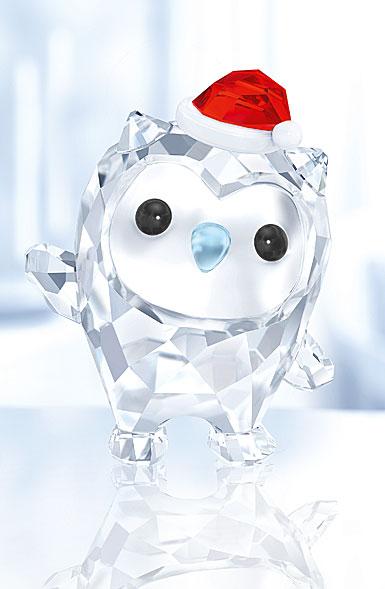 Swarovski Lovlots Hoot the Owl, Happy Holidays 2017 Annual Edition