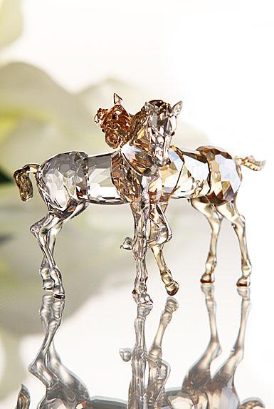 Swarovski High Brilliance, Foals Playing, 4 3/4in
