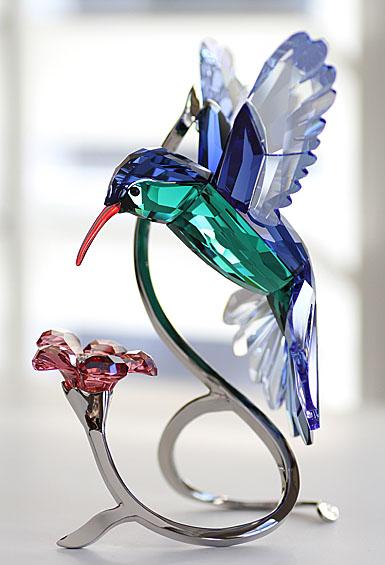 Swarovski Paradise Hummingbird Sculpture
