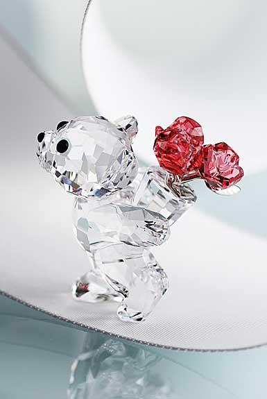 Swarovski Kris Bear, Say It With Roses