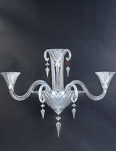 Baccarat Mille Nuits 3 Light Wall Sconce