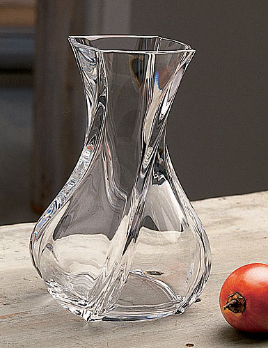 "Baccarat Serpentin 6"" Vase"