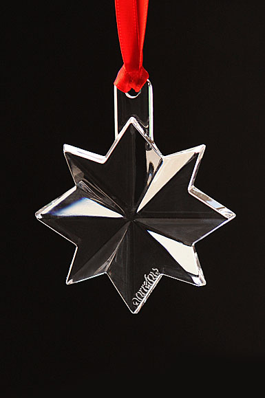 Orrefors Seven Sisters Design Star Ornament, 3rd Edition