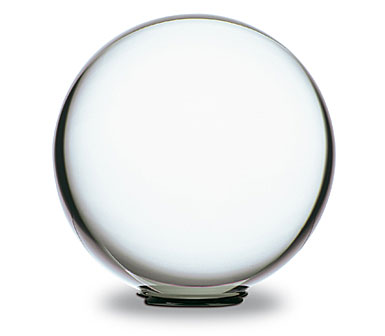 Baccarat Sirius Large Crystal Ball