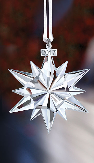 Swarovski Annual Edition 2017 Crystal Star Ornament