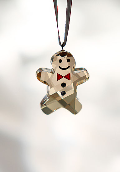 Swarovski Georgie the Gingerbread Man Ornament
