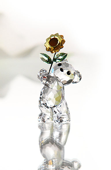 Swarovski Moments Kris Bear With Sunflower