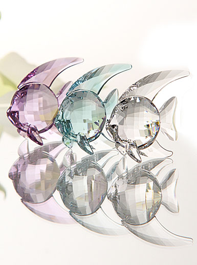 Swarovski Set of 3 Fish