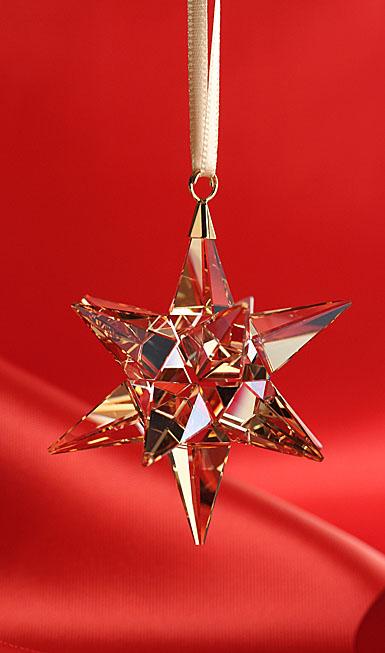 Swarovski Golden Shadow Star 2017 Ornament