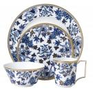 Wedgwood Hibiscus 4 Piece Expressive Place Setting