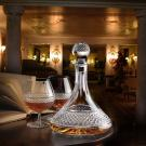 Cashs Ireland, Cooper Crystal Ships Decanter