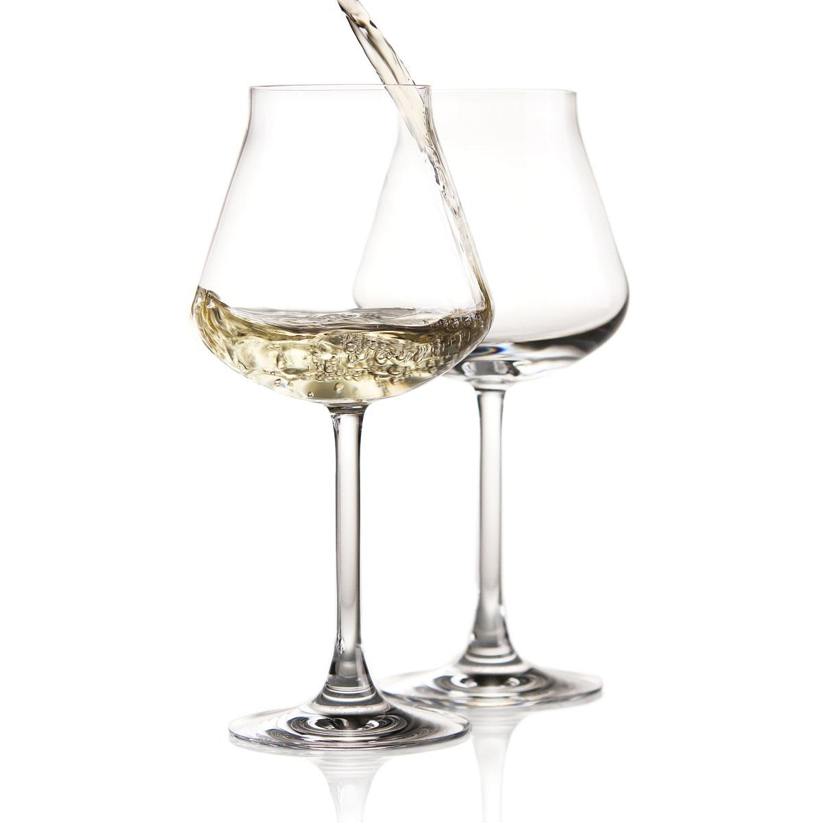 Chateau Baccarat Crystal, Degustation White Wine, Boxed Pair