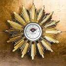 Baccarat Crystal, Heritage Georges Chevalier Golden Sun Crystal Clock, Limited Edition