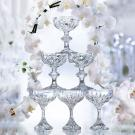 Baccarat Crystal, Massena Crystal Champagne Coupe, Pair