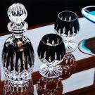 Waterford Crystal, Lismore Black Brandy, Cognac Glasses, Pair