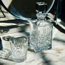 Waterford Lismore Square Crystal Decanter, Clear