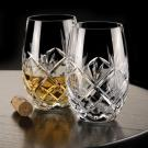 Waterford Huntley Stemless White Wine Glasses, Pair
