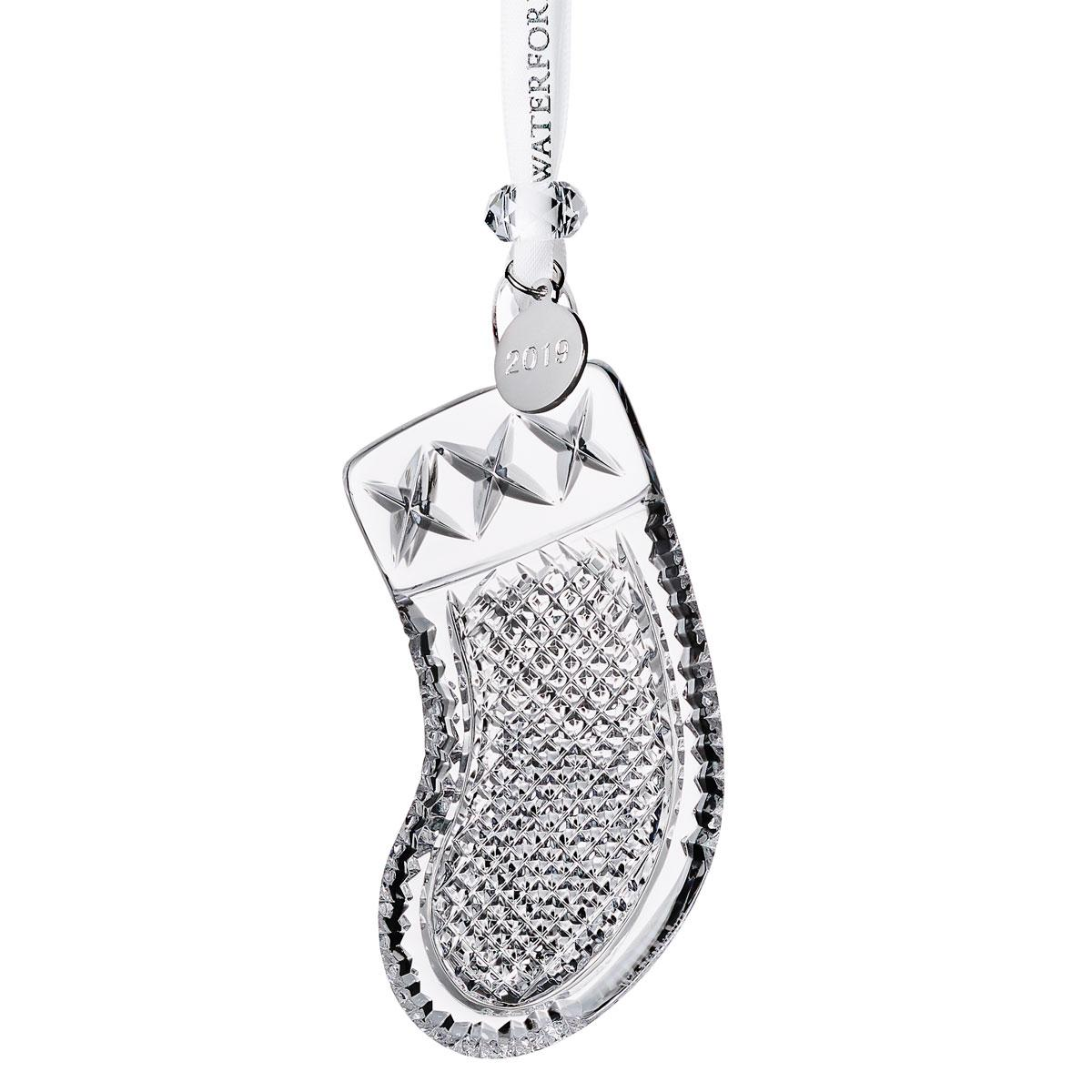 Waterford Crystal 2019 Stocking Christmas Ornament