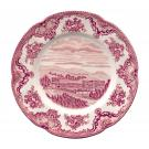"Johnson Brothers Old Britain Castles Pink Salad Plate 8"", Single"