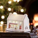 Belleek Irish Village Grocery Store with LED Light