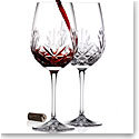 Cashs Annestown Cabernet Bordeaux Wine Glasses Pair