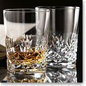 Cashs Crystal Annestown Single Malt Glasses, Pair