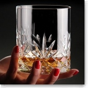 Cashs Ireland, Annestown King Size 3OF Scotch Crystal Whiskey Glasses, 1+1 Free