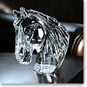 Waterford Horse's Head Paperweight