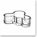 "Iittala Alvar Aalto Mini 4"" Bowl, Clear"