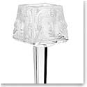 Lalique Masque De Femme Crystal Votive On Stand