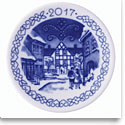Royal Copenhagen Collectibles 2017 Christmas Plaquette