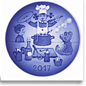 Royal Copenhagen Bing and Grondahl Children's Day Plate, The Little Chef