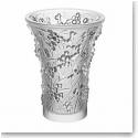 Lalique Paysage Baies Vase, Clear