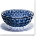 Lalique Nemours Bowl, Midnight Blue