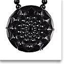 Lalique Cactus Necklace, Black
