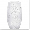 Lalique Edelweiss Small Vase, Clear
