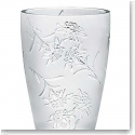 Lalique Edelweiss Medium Vase, Clear