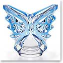 Lalique Tourbillons Ovale Vase, Blue Limited Edition