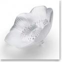 Lalique Anemone Flower Sculpture, Clear