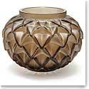 Lalique Languedoc XXL Vase, Bronze, Limited Edition of 99