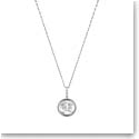 Lalique Le Baiser Pendant Necklace, Silver
