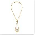 Lalique Le Baiser Necklace, Vermeil