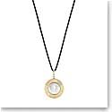 Lalique Le Baiser Pendant Necklace, Vermeil
