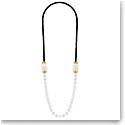 Lalique Vibrante Long Necklace, Vermeil