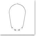 Lalique Vibrante Oval Necklace, Silver